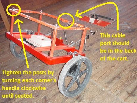 EM61 Cart Upper Assembly