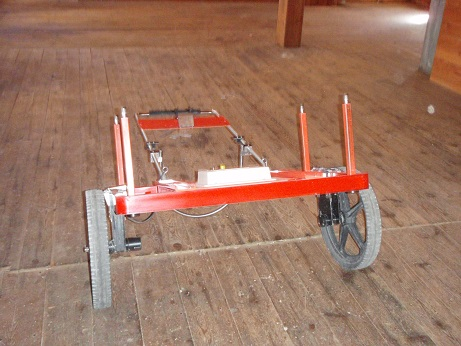 EM61 Cart with Steel Posts