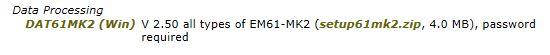 DAT61MK2 installation download link