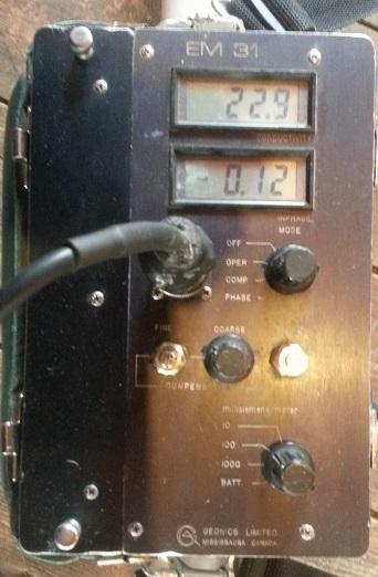 EM31 calibration