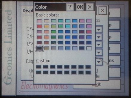 EM31-MK2 Color Pallete