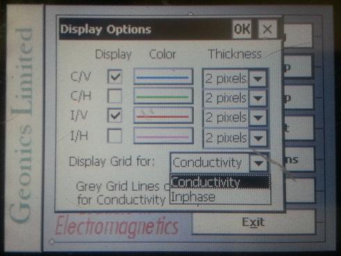 EM31-MK2 Grid Lines