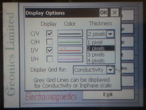 EM31-MK2 Display Pixel