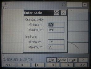 EM38-MK2 Enter Scale