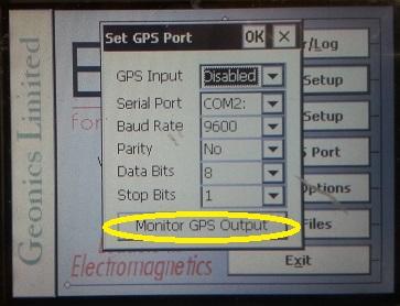 EM31-MK2 Monitor GPS