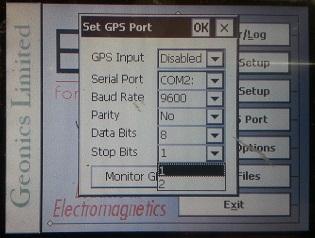 EM31-MK2 Set GPS Stop