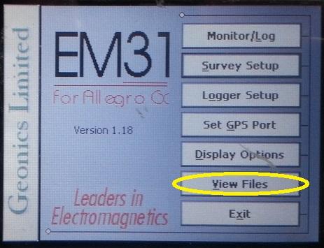 EM31-MK2 View Files