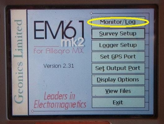 EM61-MK2A Monitor Log