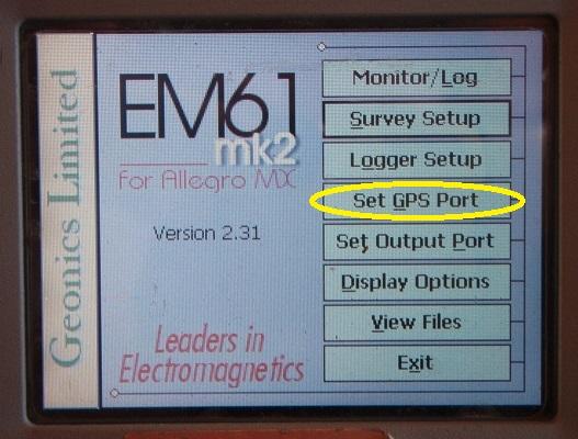 EM61-MK2A GPS