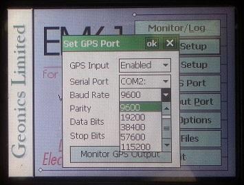 EM61-MK2A Baud Rate