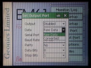 EM61-MK2A Set Output Port