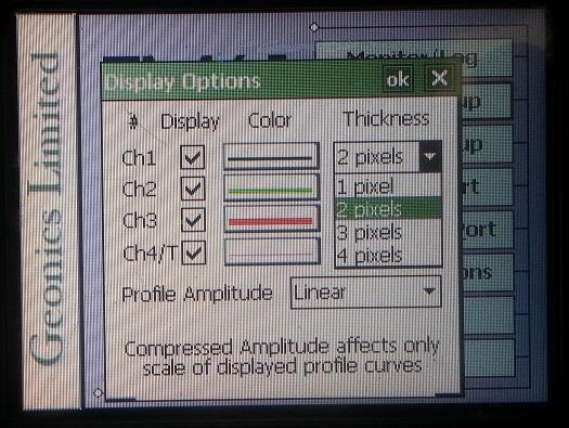 EM61-MK2A Display