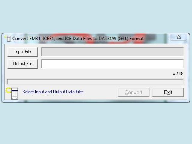 Convert EM31 Files
