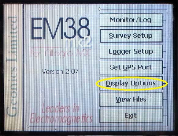 EM38-MK2 Display