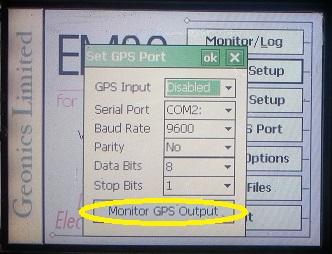 EM38-MK2 Set GPS