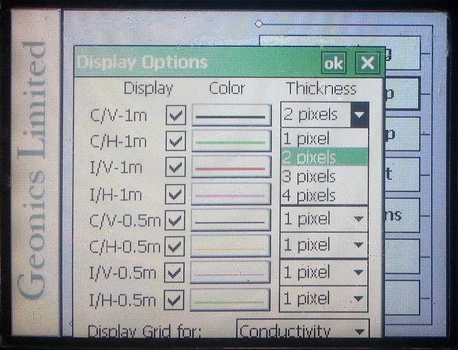 EM38-MK2 Display Pixel Thickness
