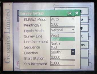 EM38-MK2 Direction