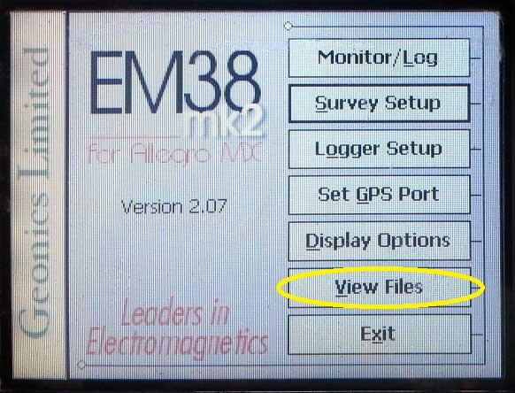 EM38-MK2 View Files