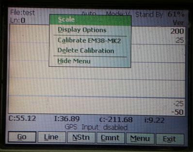 EM38-MK2 Monitor Display Menu