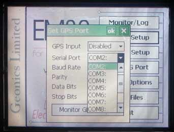 EM38-MK2 Serial Port