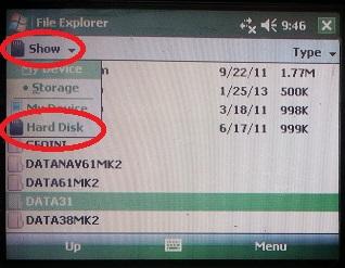 TK6000 Hard Disk