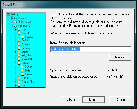 DAT34 Directory