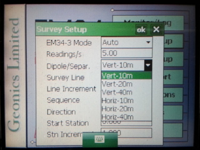 EM34 survey
