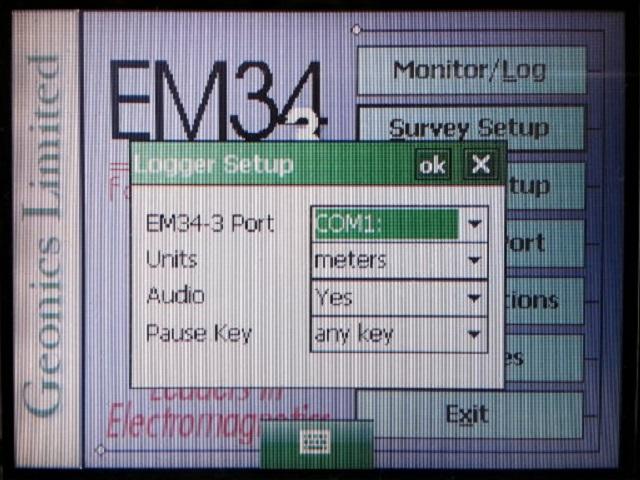 EM34 data logger