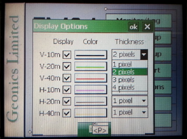 Display Pixel Thickness