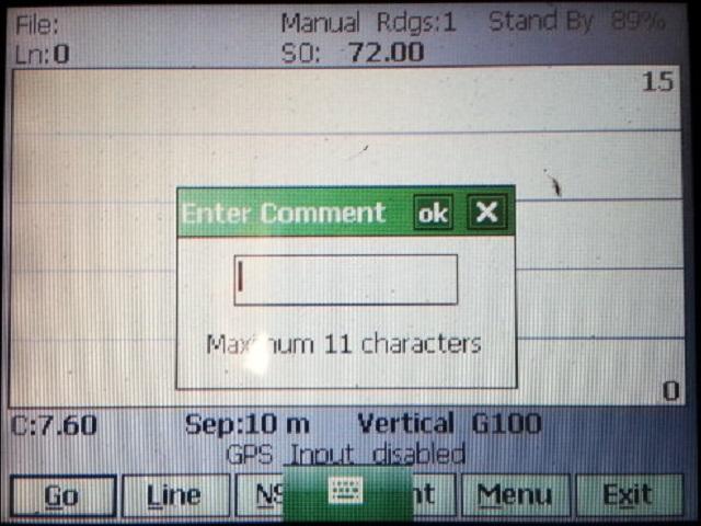 EM34 Enter Comment