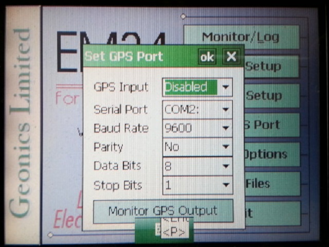 EM34 GPS Input